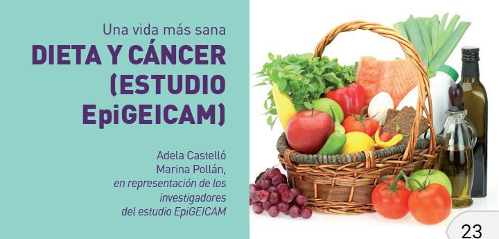 La alimentación sana como factor de prevención del cáncer de mama