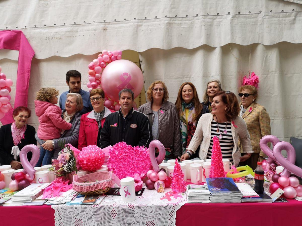 Puertollano se vuelca con Santa Águeda en su lucha contra el cáncer de mama